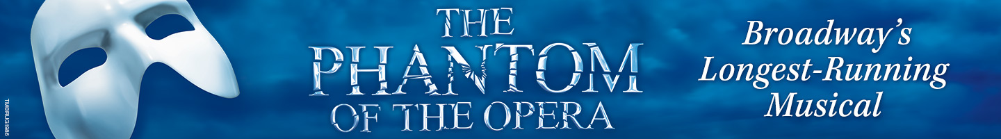 Image result for musical the phantom of the opera banner