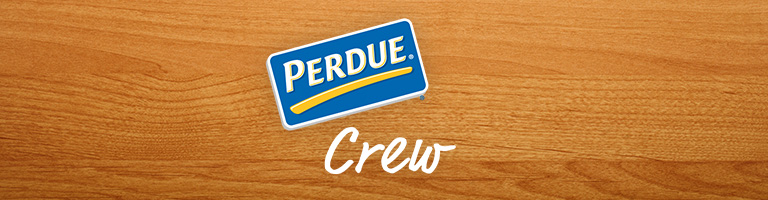 The Perdue Crew Logo